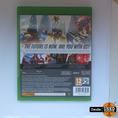 XBOX ONE game OVERWATCH