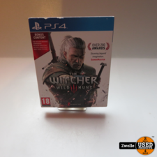 playstation Playstation 4 game The Witcher