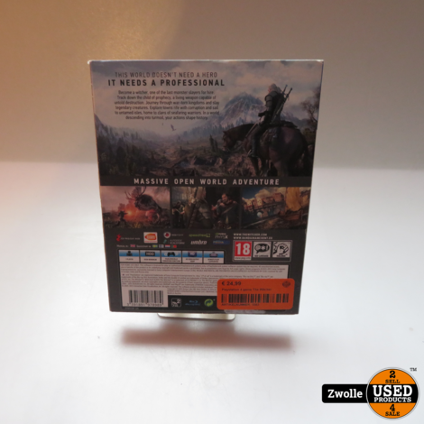 Playstation 4 game The Witcher