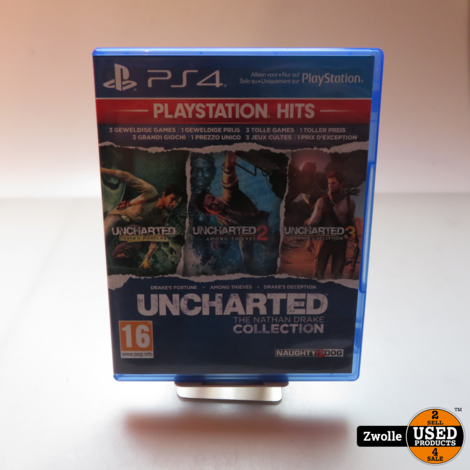 playstation 4 uncharted the nathan drake collection