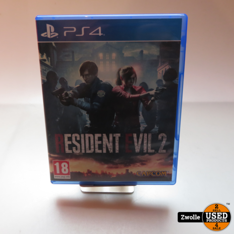 playstation 4 Resident evil 2