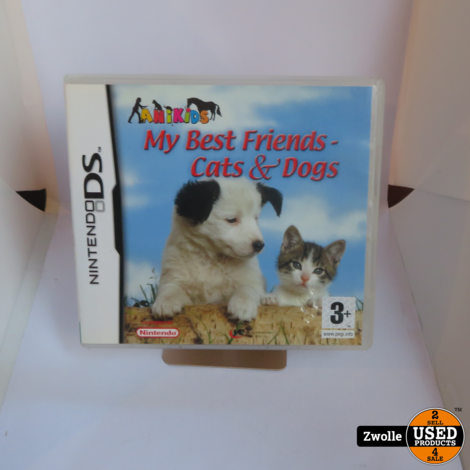 Nintendo DS game | my best friend Cats & Dogs
