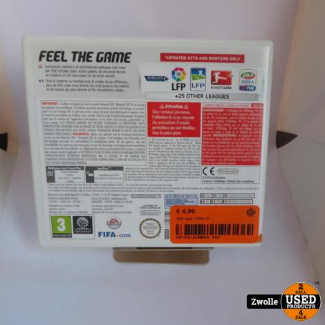 Nintendo 3DS game | FIFA 15