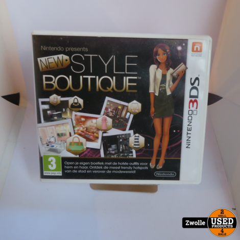 Nintendo 3DS game | Style Boutique