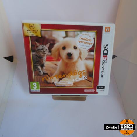 3DS spel | Nintendogs & Cats