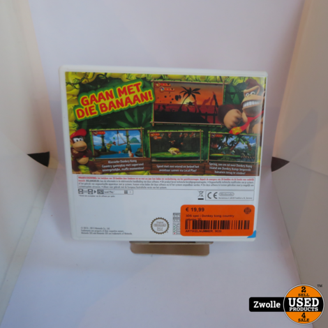 Nintendo 3DS Game | Donkey kong country returns 3D