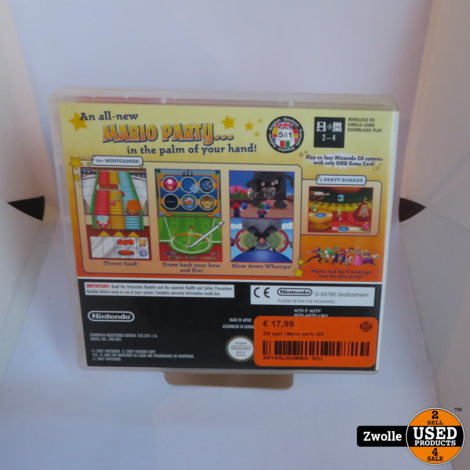 Nintendo DS game | Mario party DS