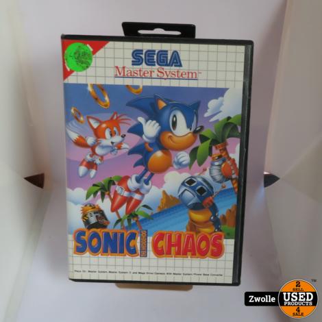 Sega game | Sonic chaos