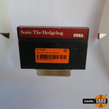 overig Sega game   Sonic the hedgehog