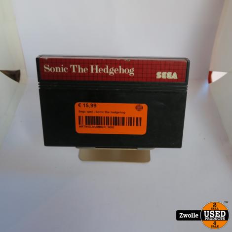 Sega game   Sonic the hedgehog