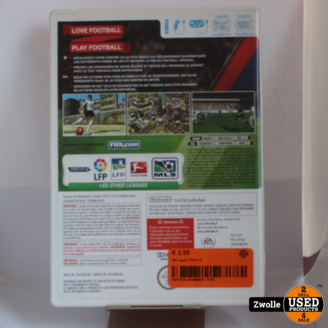 Wii game | FIFA 12