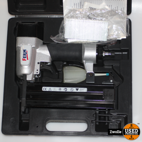 2Ferm nietpistool | Compleet in koffer