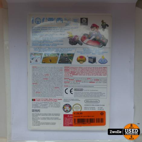 Nintendo Wii game Mario kart