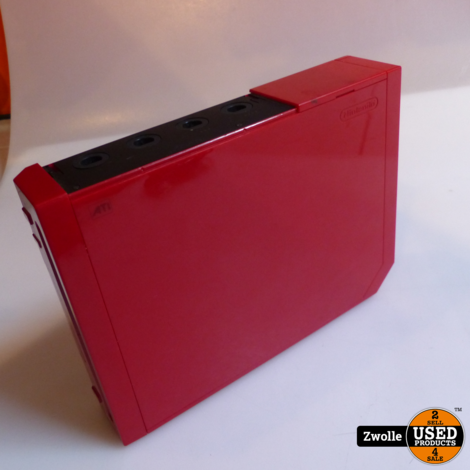 Wii console rood | roze controller