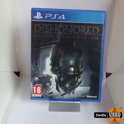 PS4 game   Dishonored definite edition