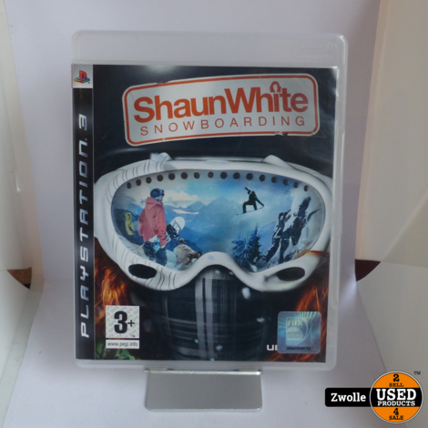 playstation 3 game | Shaun White Snowboarding