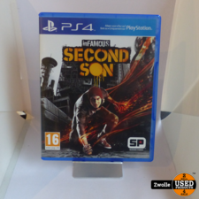 playstation PS4 game   Infamous second son