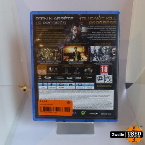 PS4 game   Deus Ex