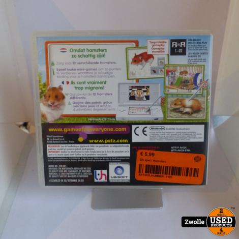 DS spel | Hamsterz