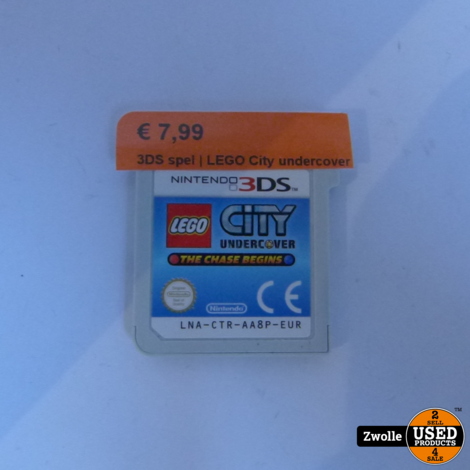 Nintendo 3DS game | LEGO City undercover