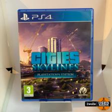 playstation PS4 spel | Cities skylines