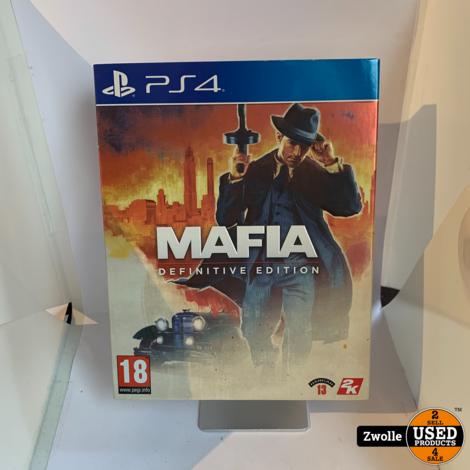 Playstation 4 game Maffia