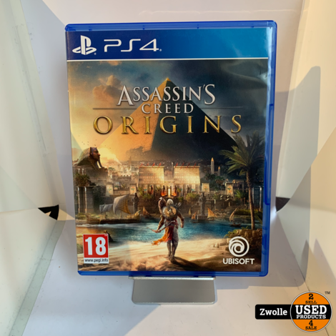 Playstation 4 game Assassin's Creed Origins