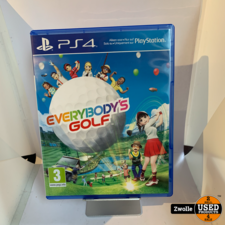 playstation PS4 game | Everybody's golf