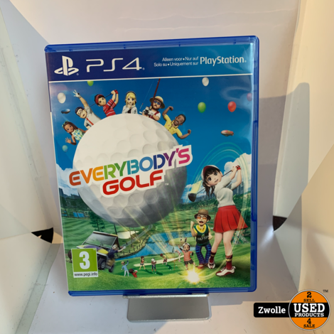 PS4 game | Everybody's golf