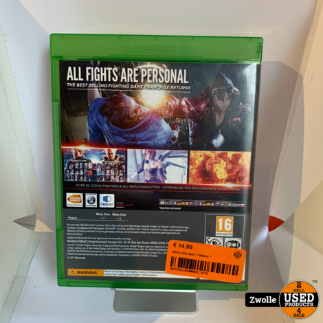Xbox one spel | Tekken 7