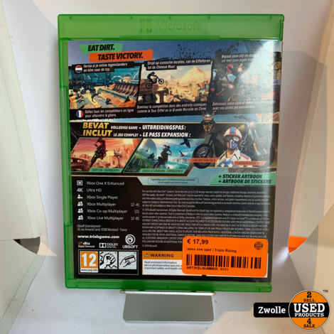 xbox one spel | Trials Rising