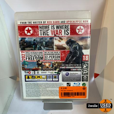 PS3 spel   Homefront