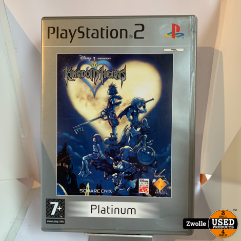 playstation 2 game  | Kingdom Hearts