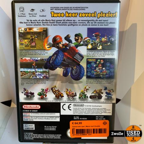 Gamecube spel | Mario kart Double das