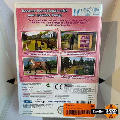 Wii spel | Pony Friends 2