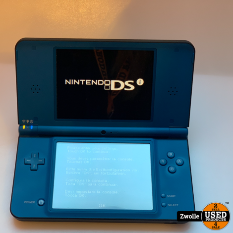 Nintendo 2DS XL | Blauw/Zwart | Met oplader