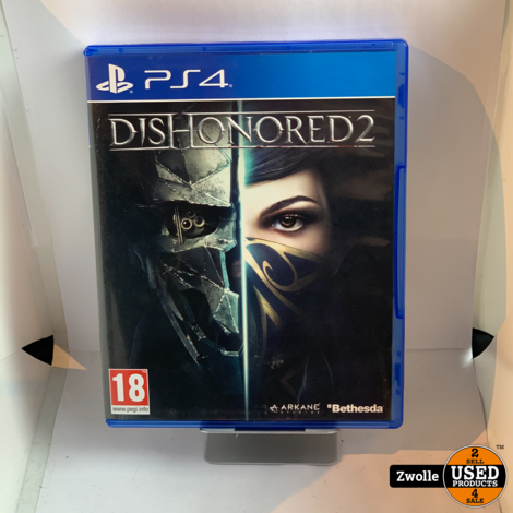 Dishonored 2 Playstation 4 game