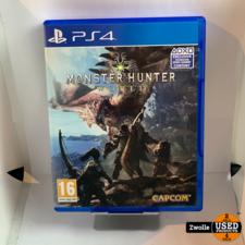 playstation Playstation 4 game Monster Hunter