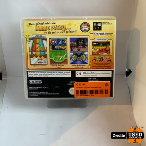Nintendo DS game marioparty ds