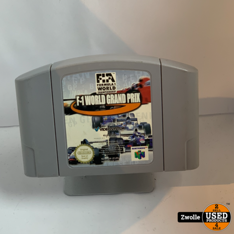Nintendo 64 spel | F-1 world grand prix