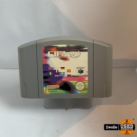 Nintendo 64 spel | FIFA 98