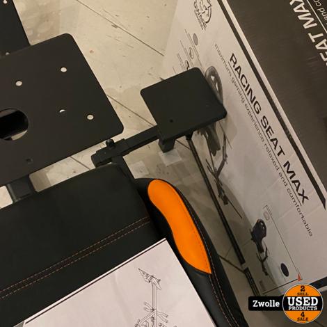 Qware Racing Seat Max | Winkelmodel zonder doos | Gaming Chair | Game stoel | Race stoel