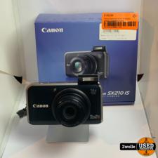 canon Canon powershot SX210 IS Digitale camera | Compleet in doos