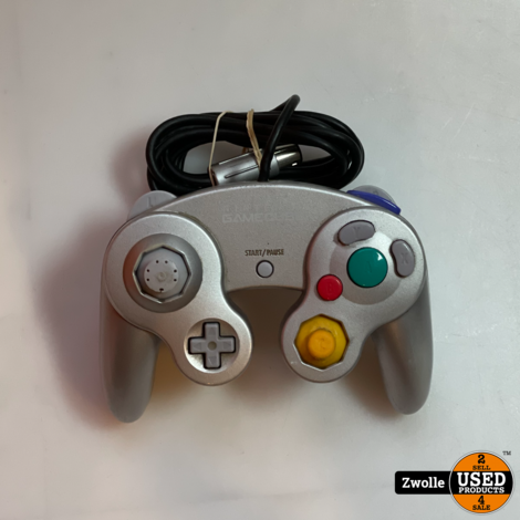 Gamecube controller grijs