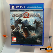 playstation Playstation 4 game God Of War Day one editie