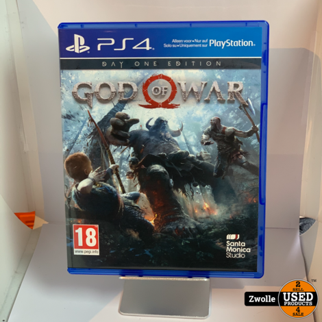 Playstation 4 game God Of War Day one editie