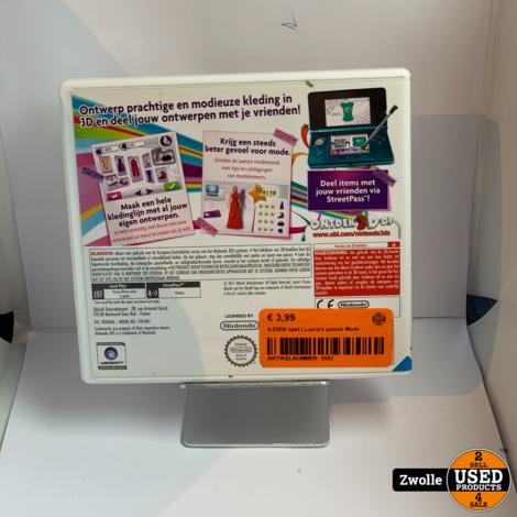 Nintendo 3DS game  | Laura's passie Mode