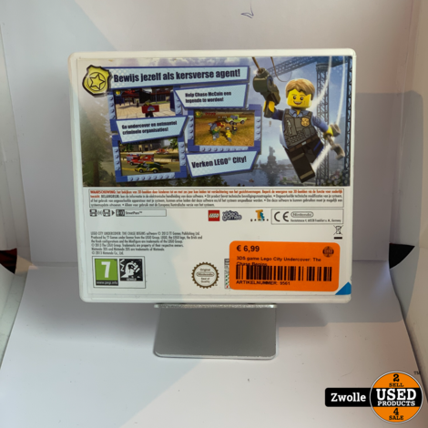 Nintendo 3DS game   Lego City Undercover: The Chase Begins