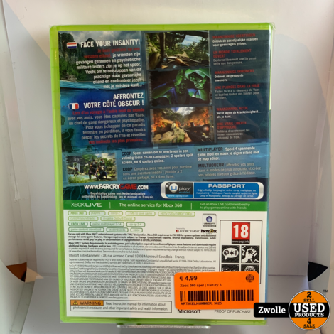 Xbox 360 game | FarCry 3
