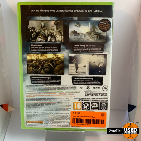 Xbox 360 game | Battlefield Bad Company 2